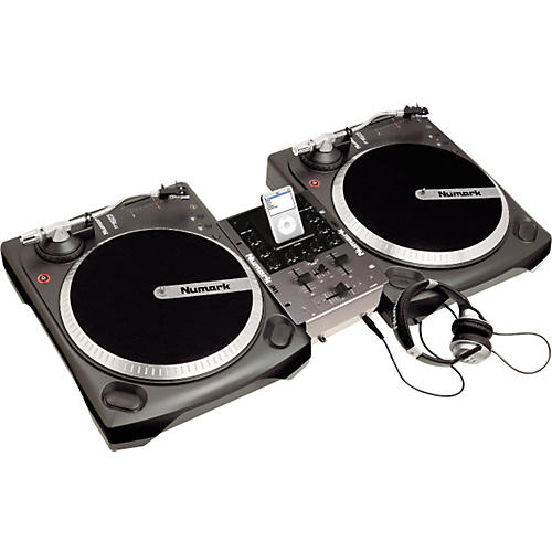 Numark iBATTLEPACK Vinyl and iPod DJ Package-thumbnail