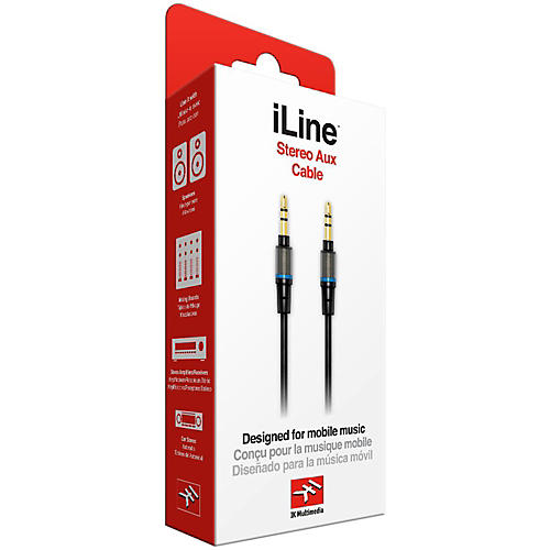 IK Multimedia iLine Stereo Aux Cable-thumbnail