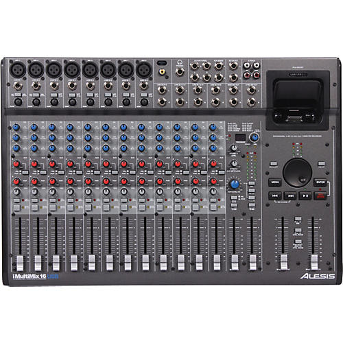Alesis iMultiMix 16USB Professional Mixer and Recording Station-thumbnail