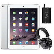 Apple iPad Air 2 16GB Silver with iRig 2 and TH-200X Headphones