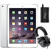 Apple iPad Air 2 MGKM2LL/A with iRig 2 and TH-200X Headphones