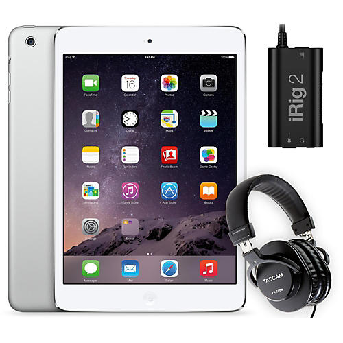 Apple iPad Mini MD531LL/A with iRig 2 and TH-200X Headphones