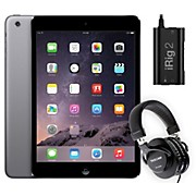 Apple iPad Mini ME276LL/A with iRig 2 and TH-200X Headphones