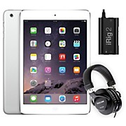 Apple iPad Mini  ME279LL/A with iRig 2 and TH-200X Headphones