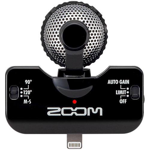Zoom iQ5 Professional Stereo Microphone for iPhone