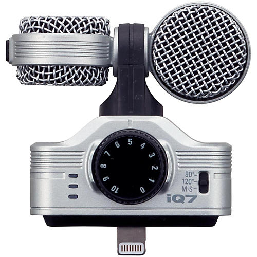Zoom iQ7 MS Stereo Microphone for iOS-thumbnail