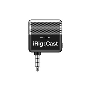 IK Multimedia iRig Microphone Cast Voice Recording Microphone For iPhone/iPod Touch/iPad by IK Multimedia