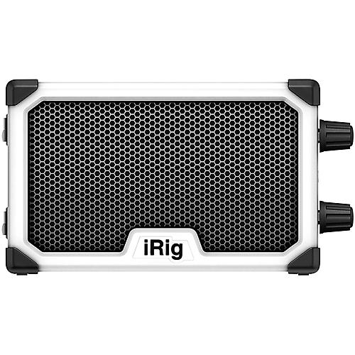ik multimedia irig nano 3w 1x3 micro combo guitar amplifier white guitar center. Black Bedroom Furniture Sets. Home Design Ideas