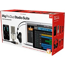 IK Multimedia iRig Pro Duo Studio Suite Level 1