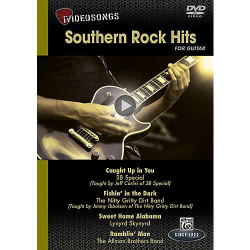 Alfred iVideosongs Southern Rock Hits DVD