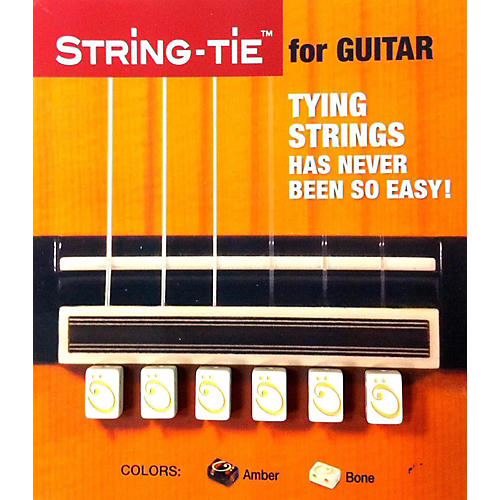 String-tie in Pearl White