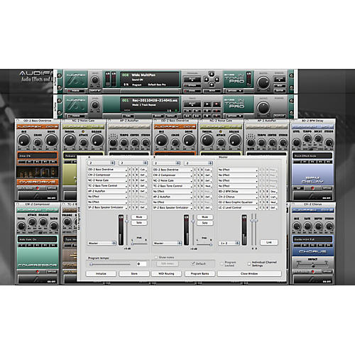 Audiffex inTone Bass Pro Software Download