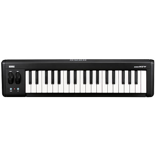 Korg microKEY37  USB MIDI Keyboard Black