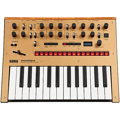 Korg monologue Monophonic Analog Synthesizer-thumbnail