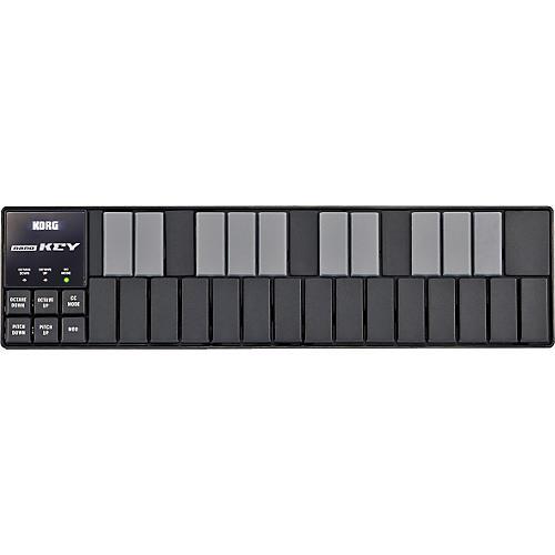 Korg nanoKEY MIDI Keyboard Controller - Black