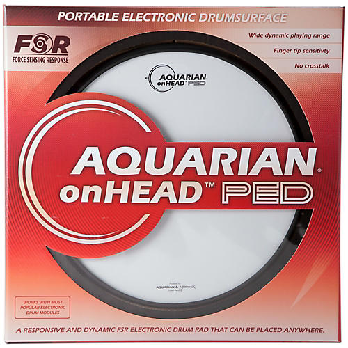 Aquarian onHEAD Portable Electronic Drumsurface 14 in.-thumbnail