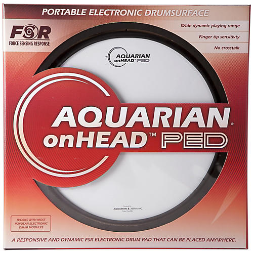 Aquarian onHEAD Portable Electronic Drumsurface Bundle Pak-thumbnail