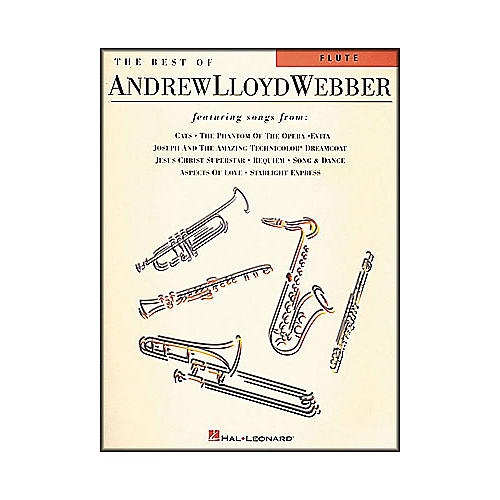 Hal Leonard the Best Of Andrew Lloyd Webber for Flute