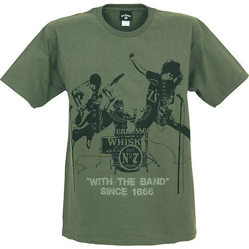 Jack Daniel's with the Band T-Shirt-thumbnail