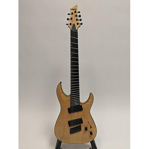 used schecter guitar research 7 ms sls elite 7 string multi scale solid body electric guitar. Black Bedroom Furniture Sets. Home Design Ideas