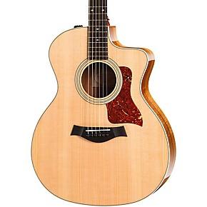 200 Series 214ce Koa Deluxe Grand Auditorium Acoustic-Electric Guitar Natural