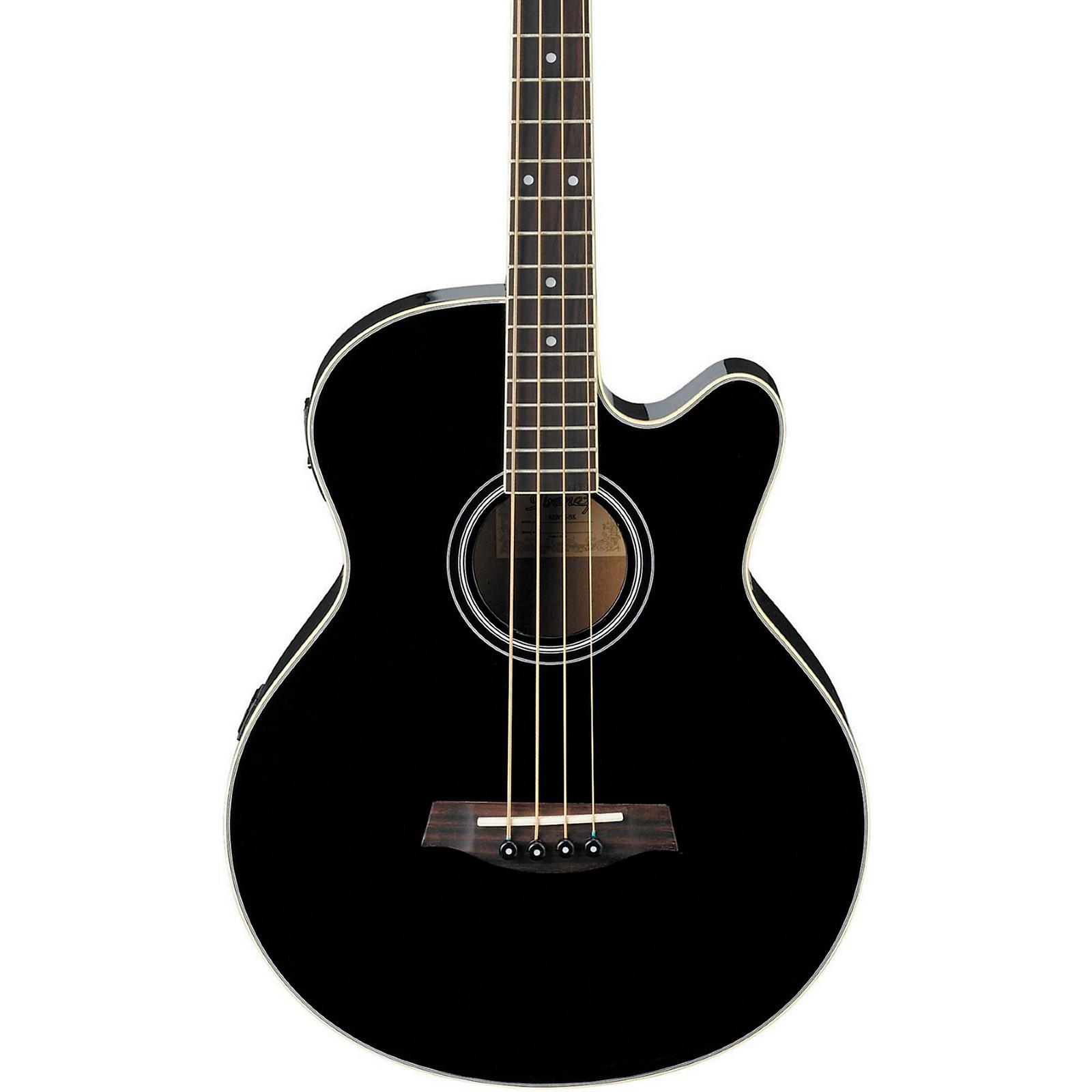 Ibanez Aeb5e Acoustic Electric Bass Black Guitar Center