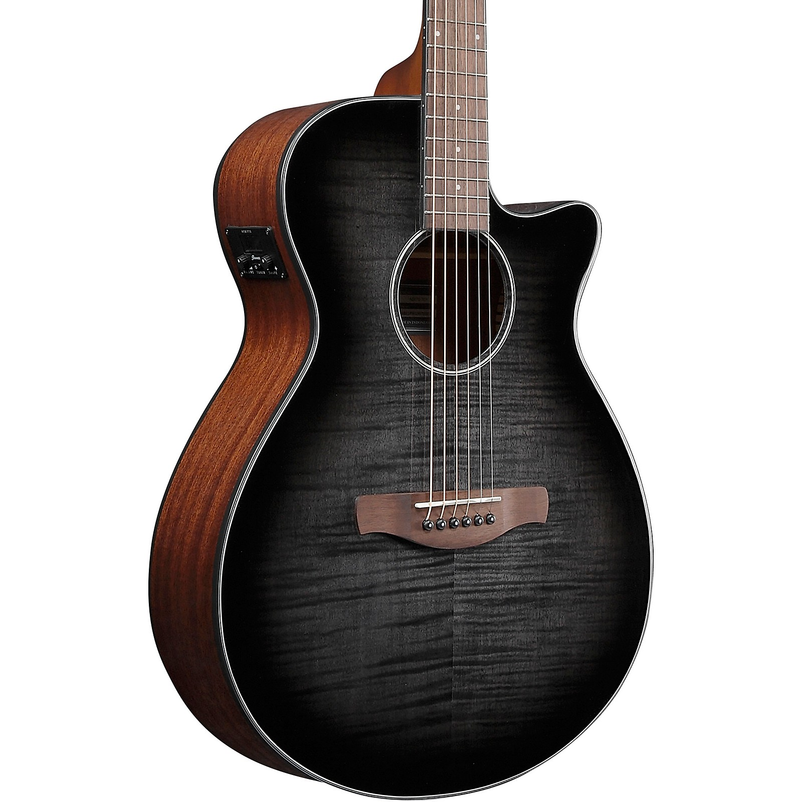 Tiger Electro Acoustic Guitar for Beginners Black