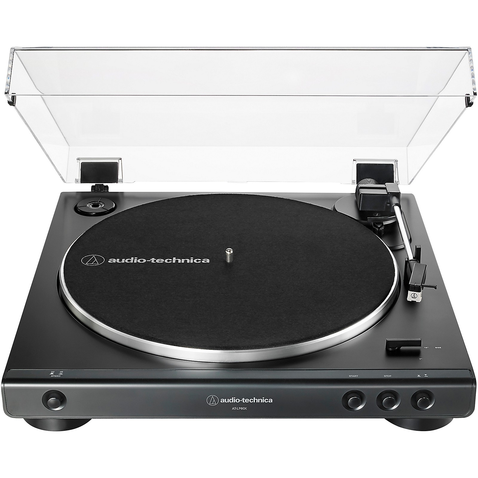 Audio Technica Audio Technica AT LP60X Fully Automatic Belt Drive Stereo Turntable