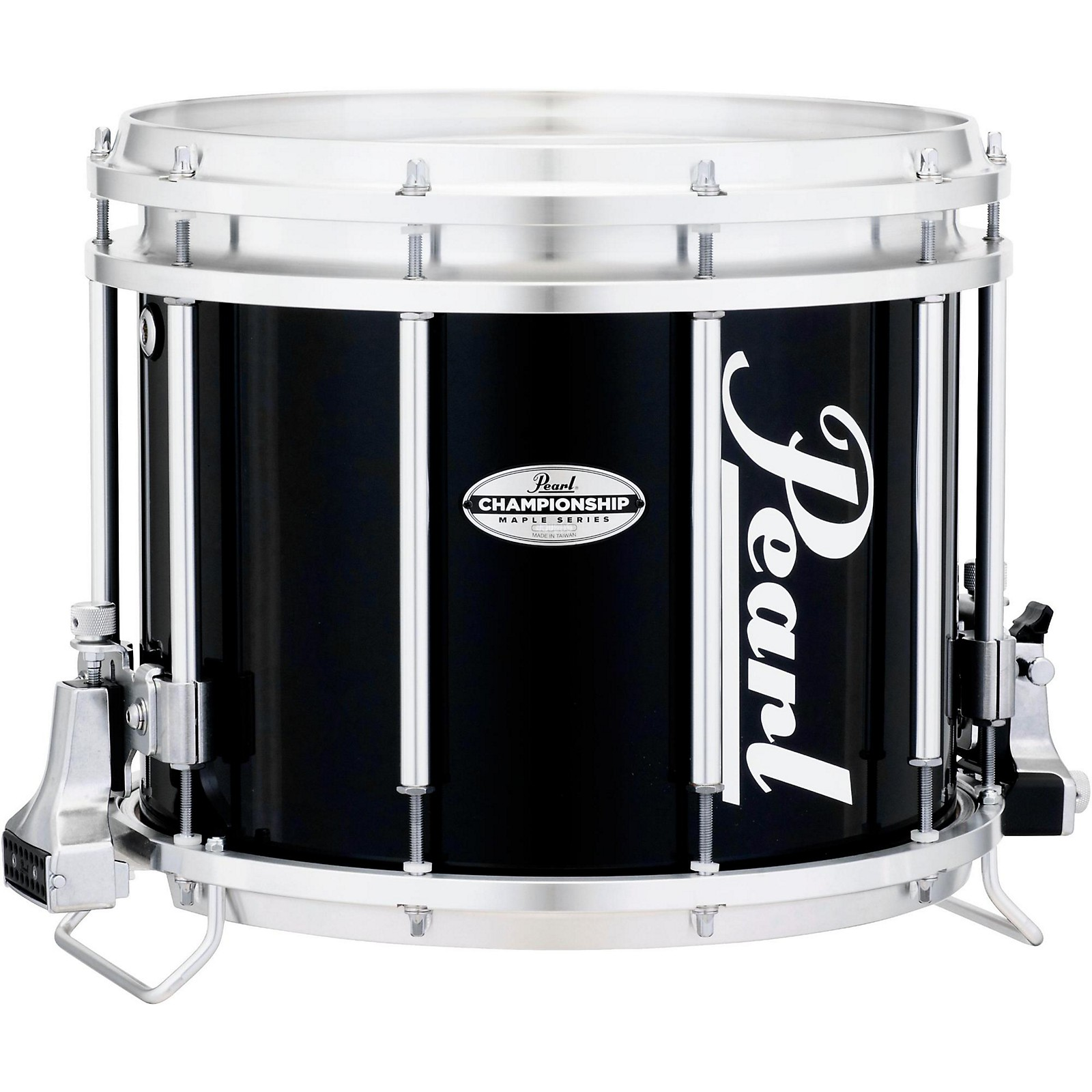 Pearl Championship Maple FFX Marching Snare Drum 14 x 12 in. Midnight Black  | Guitar Center