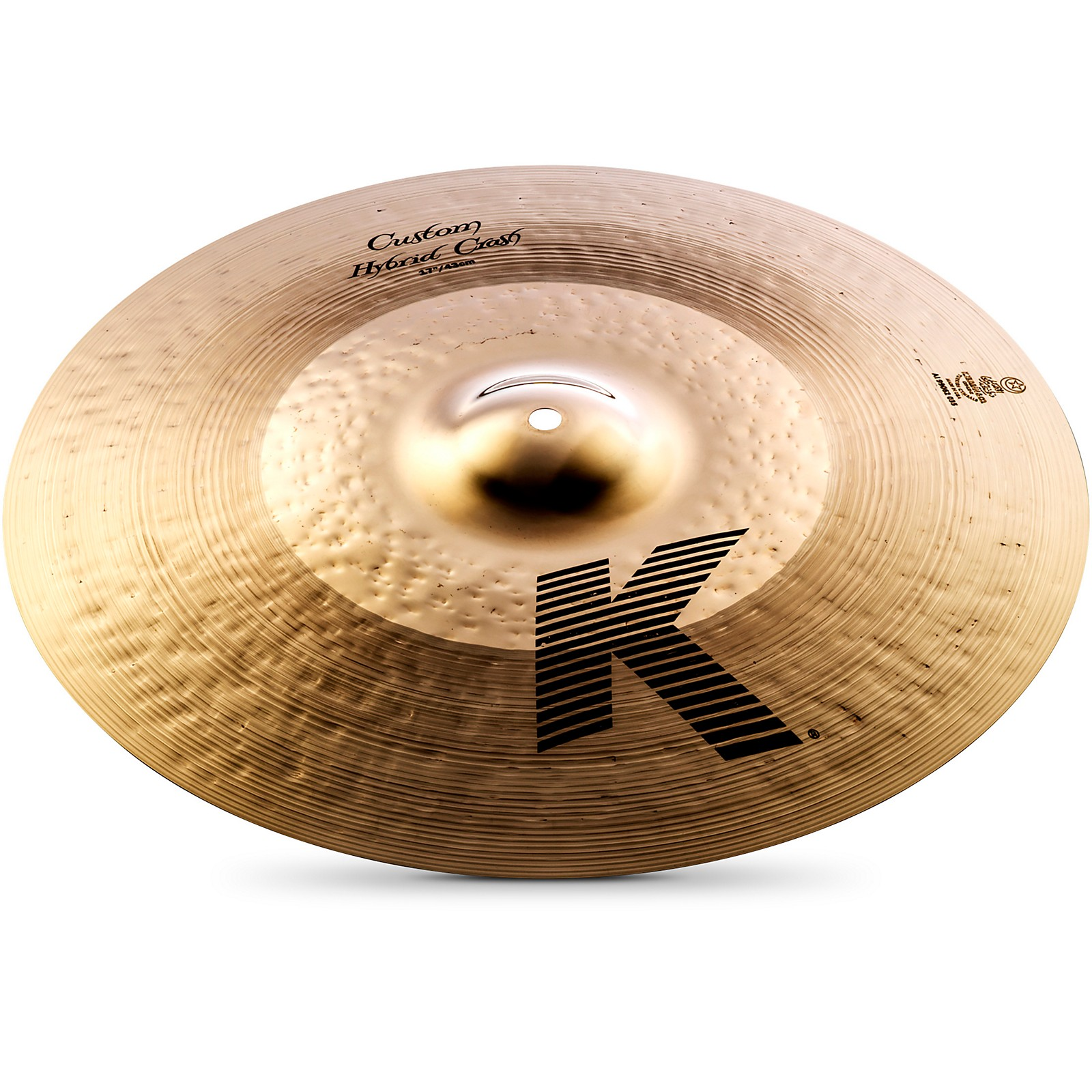 "Zildjian 17/"" K Custom hybrid crash K1217 best offer me lowest price"