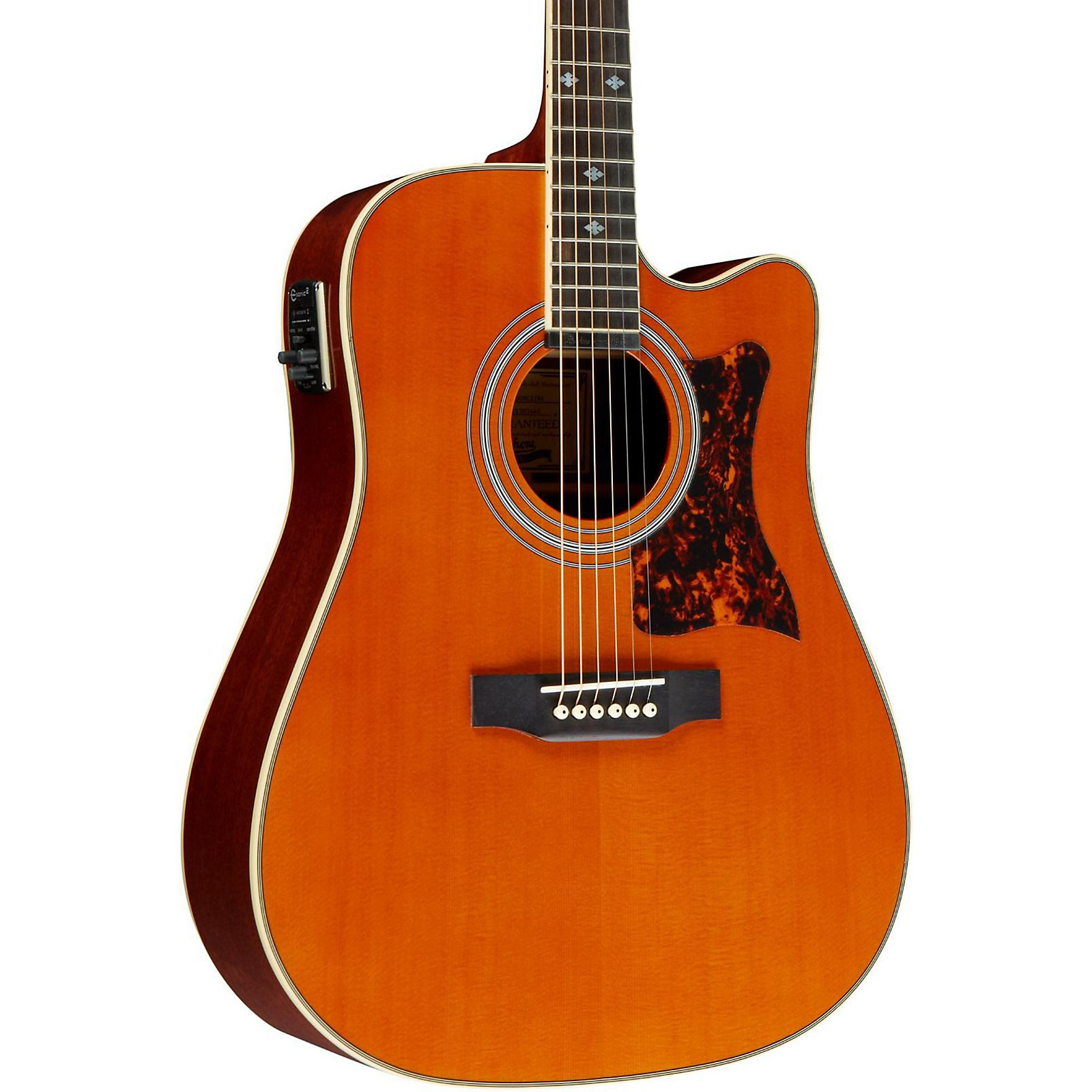 Masterbilt DR-500MCE Acoustic-Electric Guitar