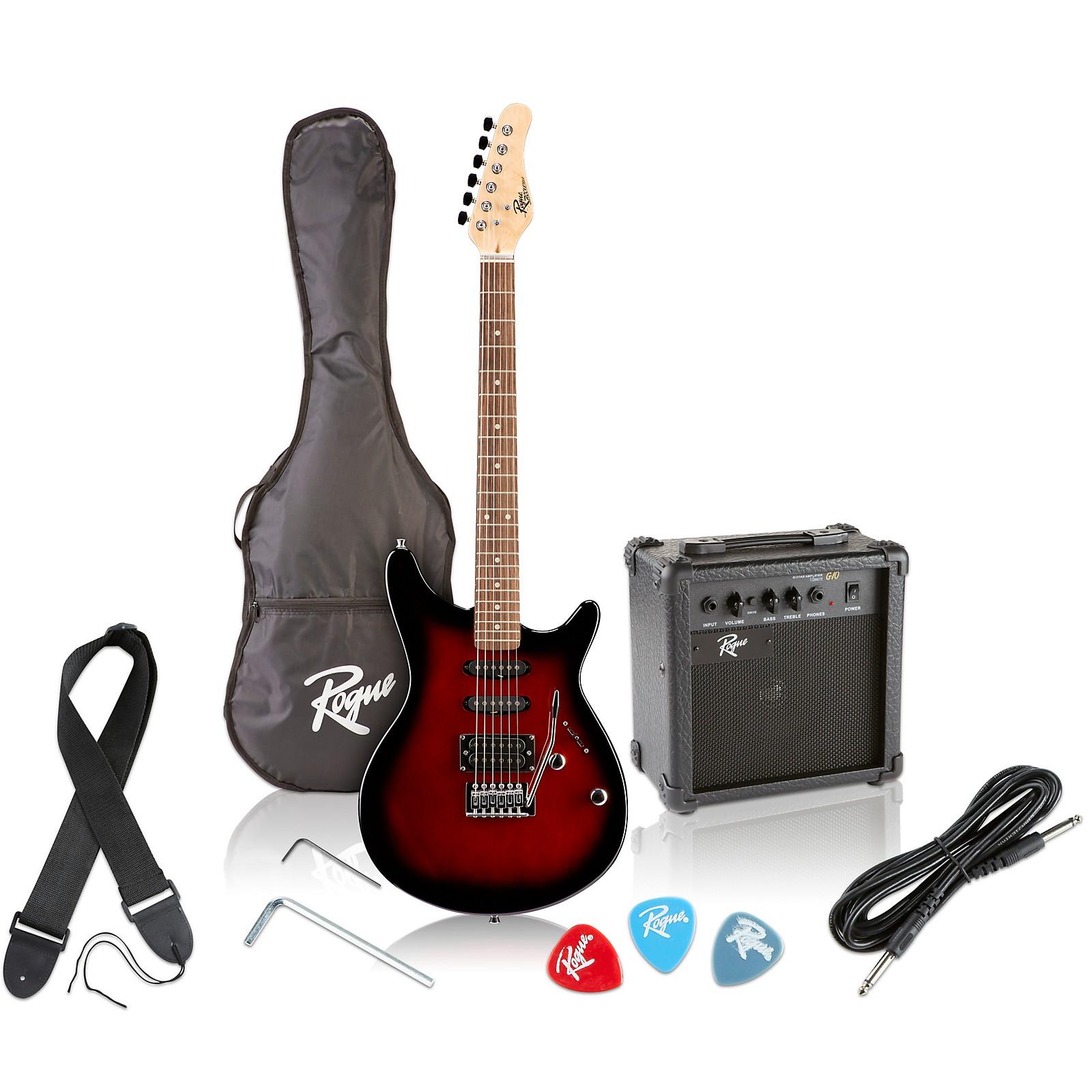 3//4 Electric Guitar package traveller guitar amp accessories tobacco sunburst
