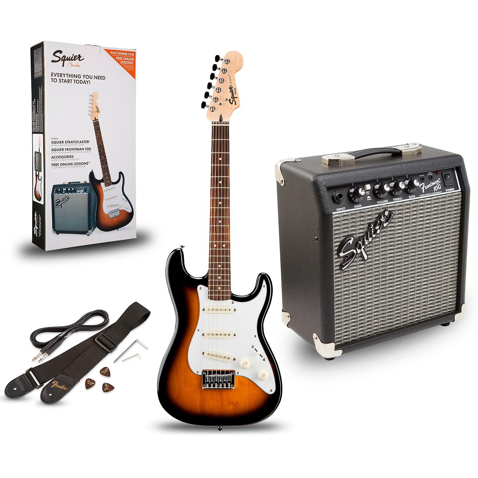 2 Sets Single Coil SSS Pickup Cover für  ST Squier SQ E Gitarre