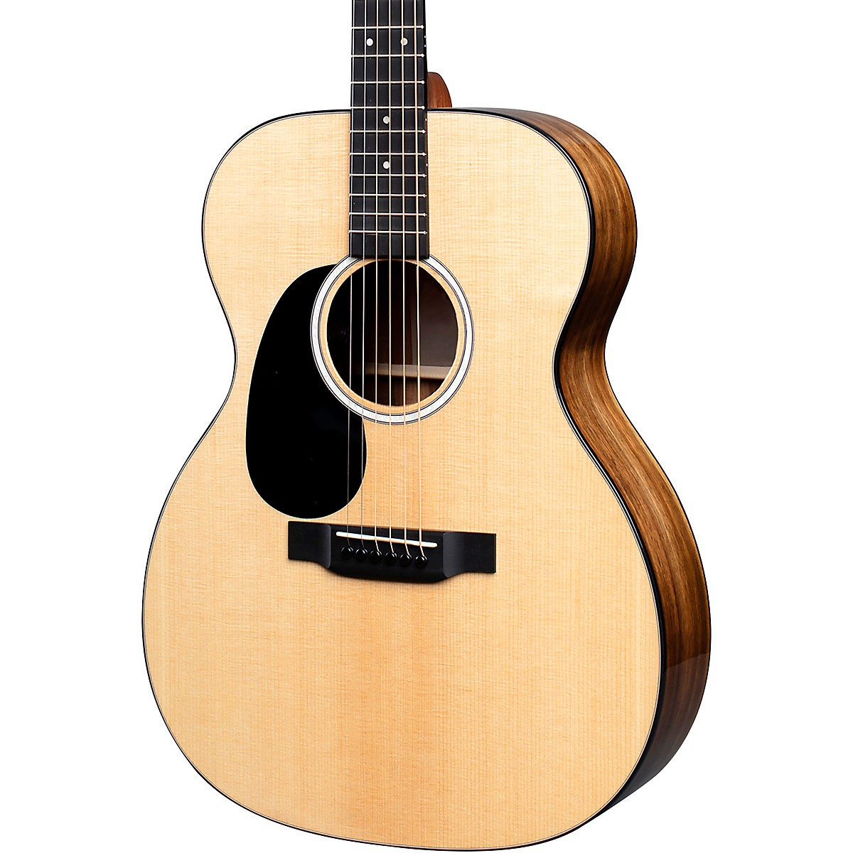 Martin 000-12EL Road Series KOA Fine Veneer Auditorium Left HandedAcoustic-Electric Guitar