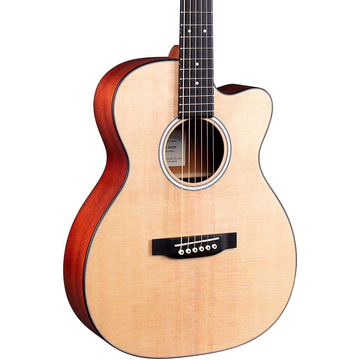 Martin 000 Jr-10E Auditorium Cutaway Acoustic-Electric Guitar