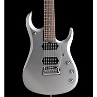 Music Man Jp13 7-String Electric Guitar Platinum Silver Rosewood Neck & Fretboard