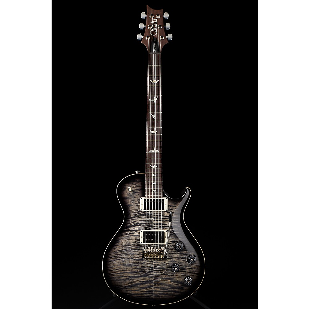 PRS Tremonti With Pattern Thin Neck Electric Guitar Charcoal Burst 1500000042572