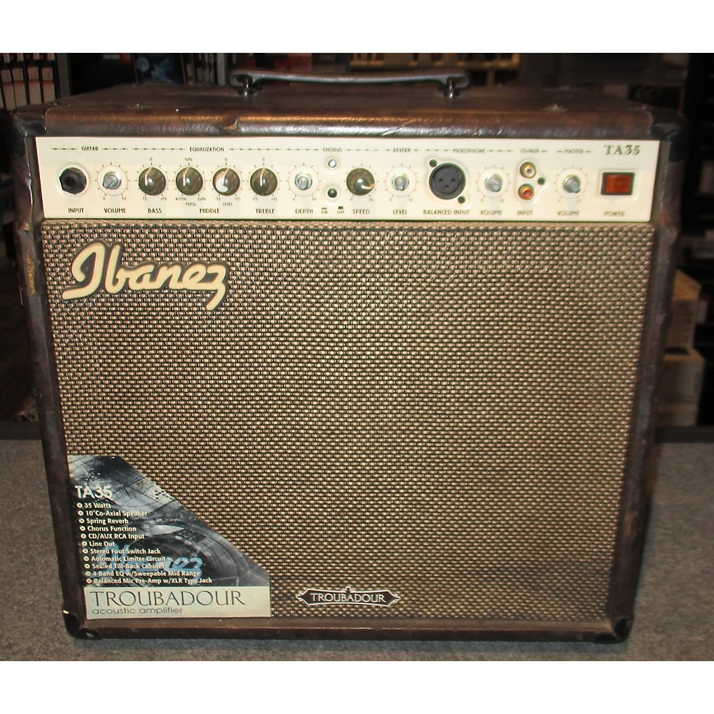Amps and Effects: Brand Ibanez