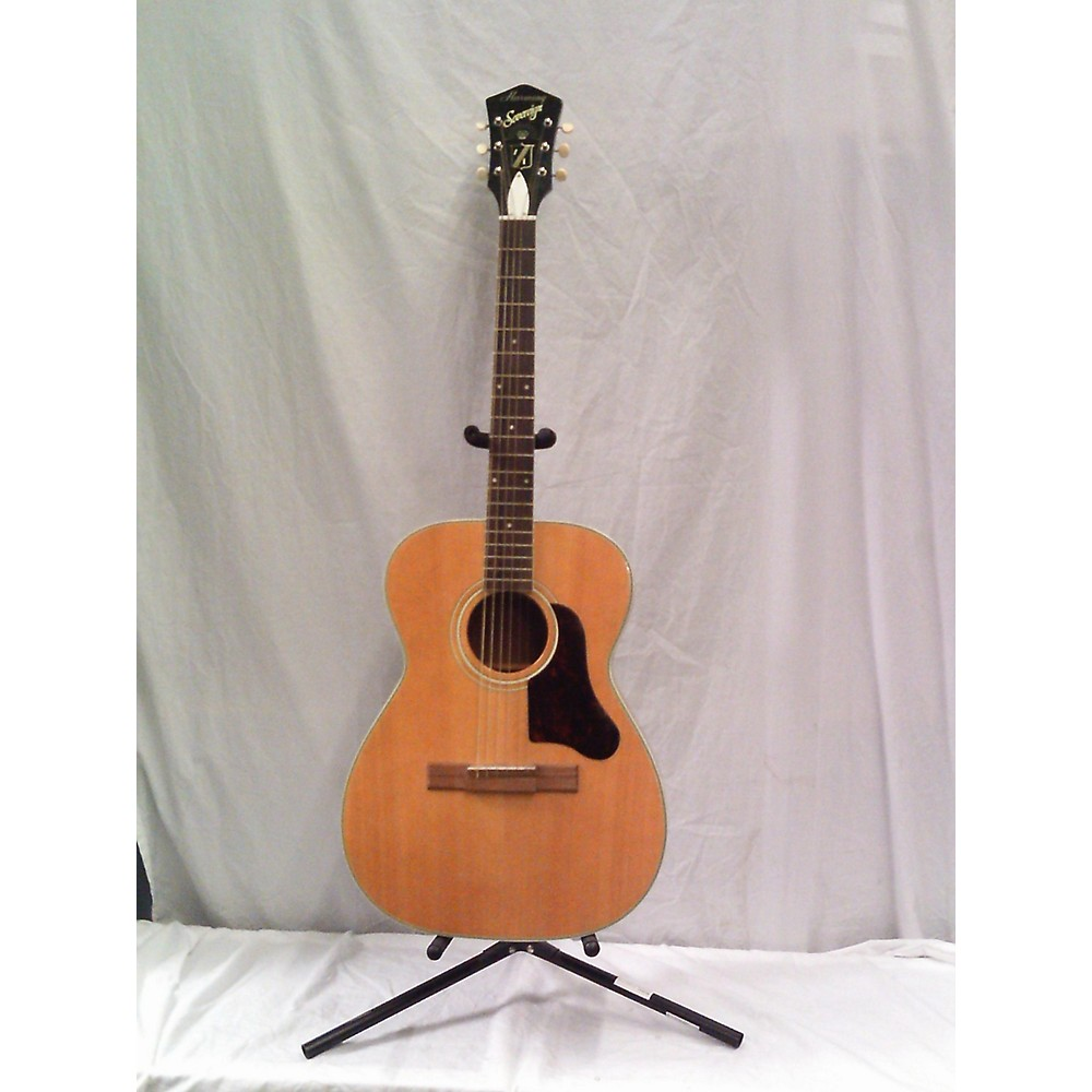 HARMONY 1970s F-17m Acoustic Guitar Natural (114209445) photo