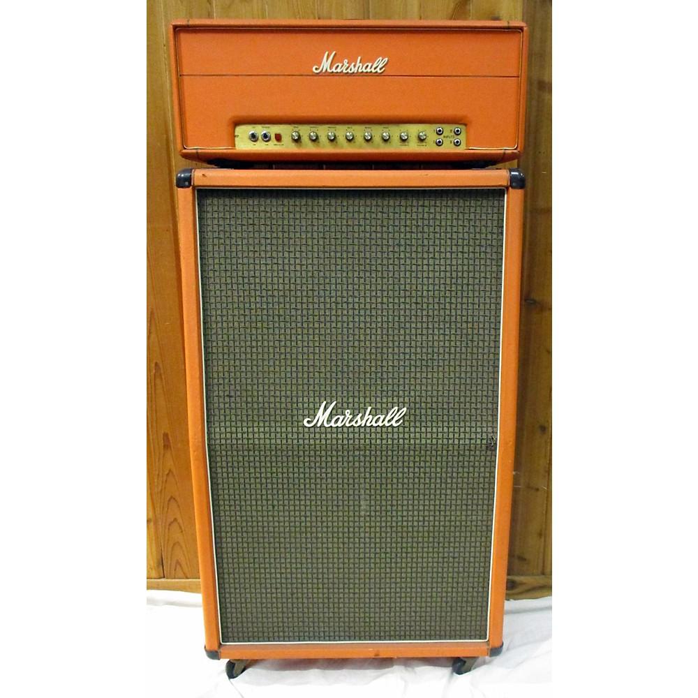 Marshall 1970 50W Trem Amp Orange W 8x10 Cab Tube Guitar Combo Amp 114374494
