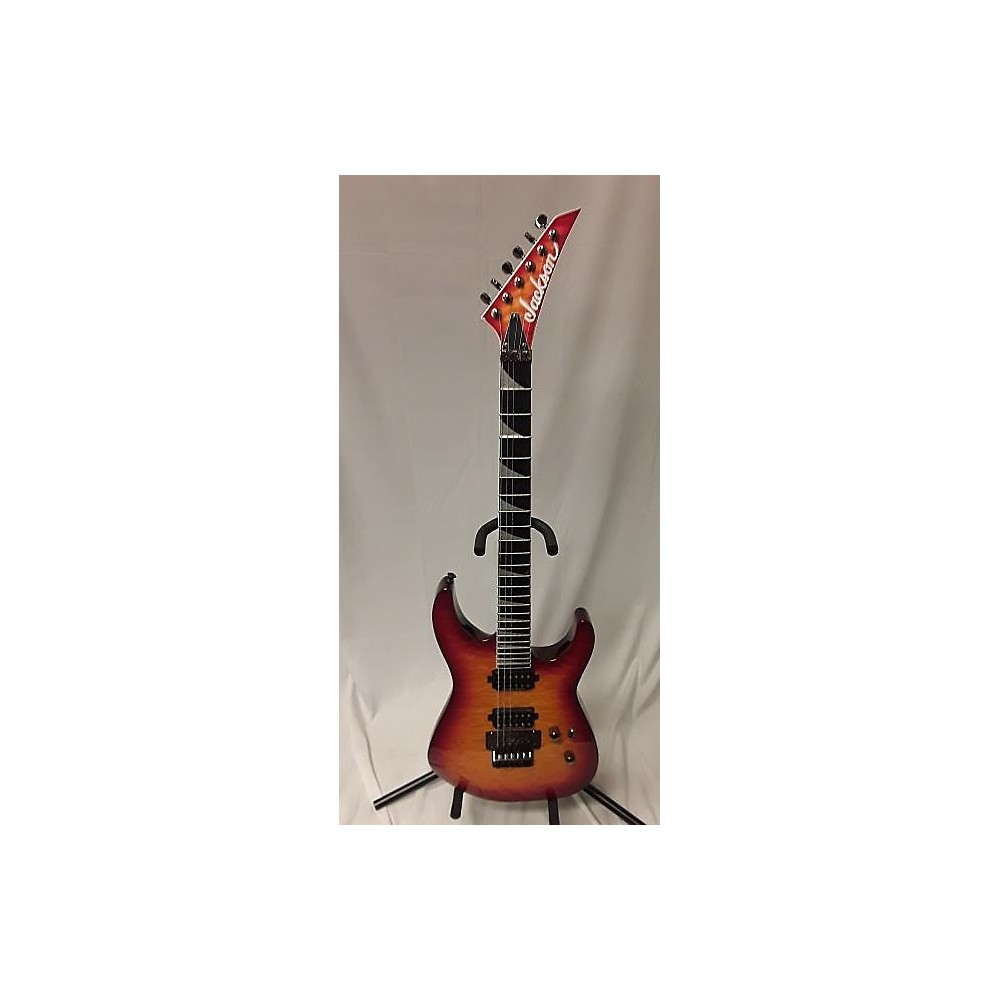 Jackson SL2Q Pro Series Soloist Solid Body Electric Guitar Cherry Sunburst 114435779