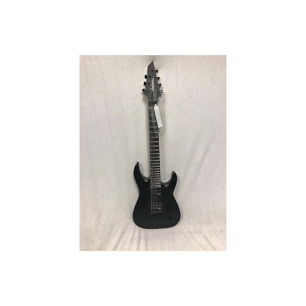 Jackson JS22-7 Dinky 7 String Solid Body Electric Guitar Satin Black 114439282