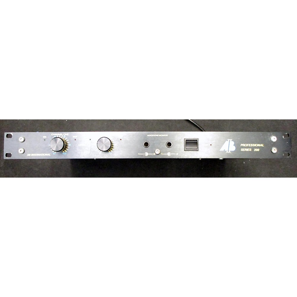 Ab Professional Series 200 Power Amp