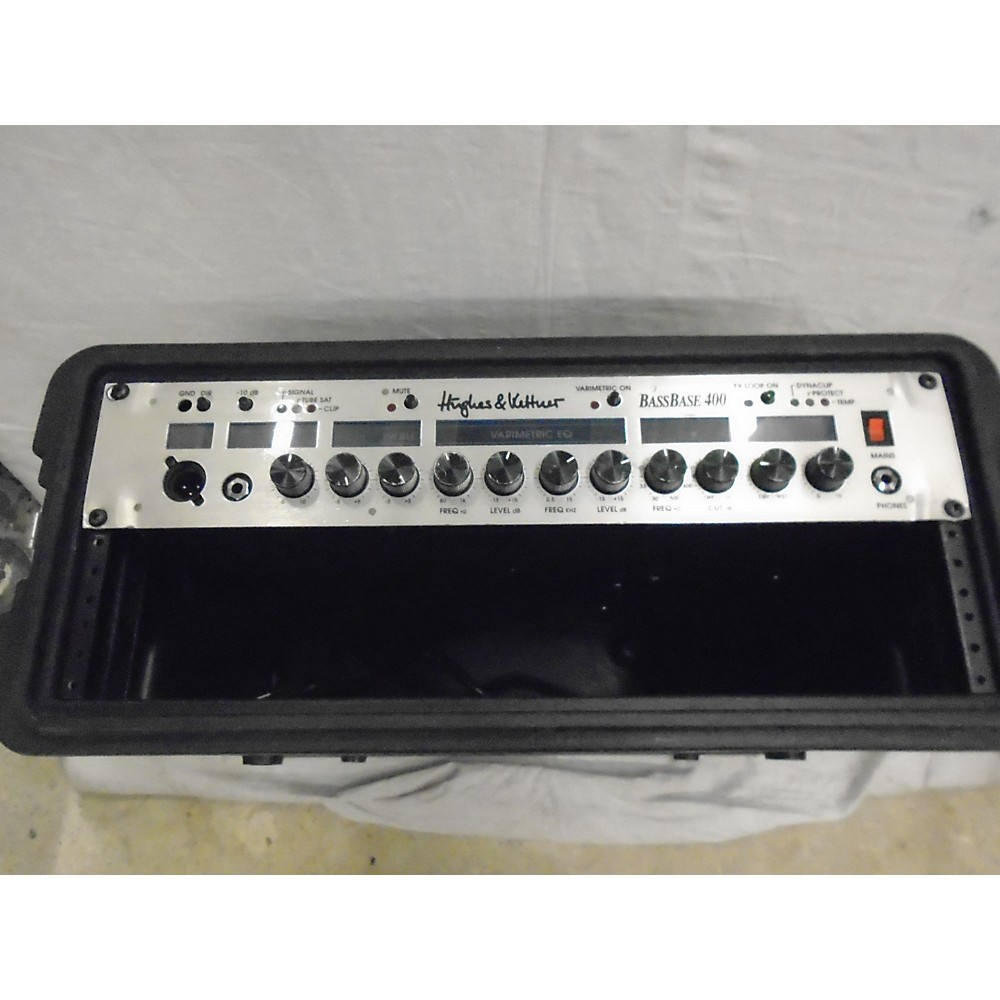 Hughes & Kettner Bassbase400 Bass Amp Head (115382499) photo