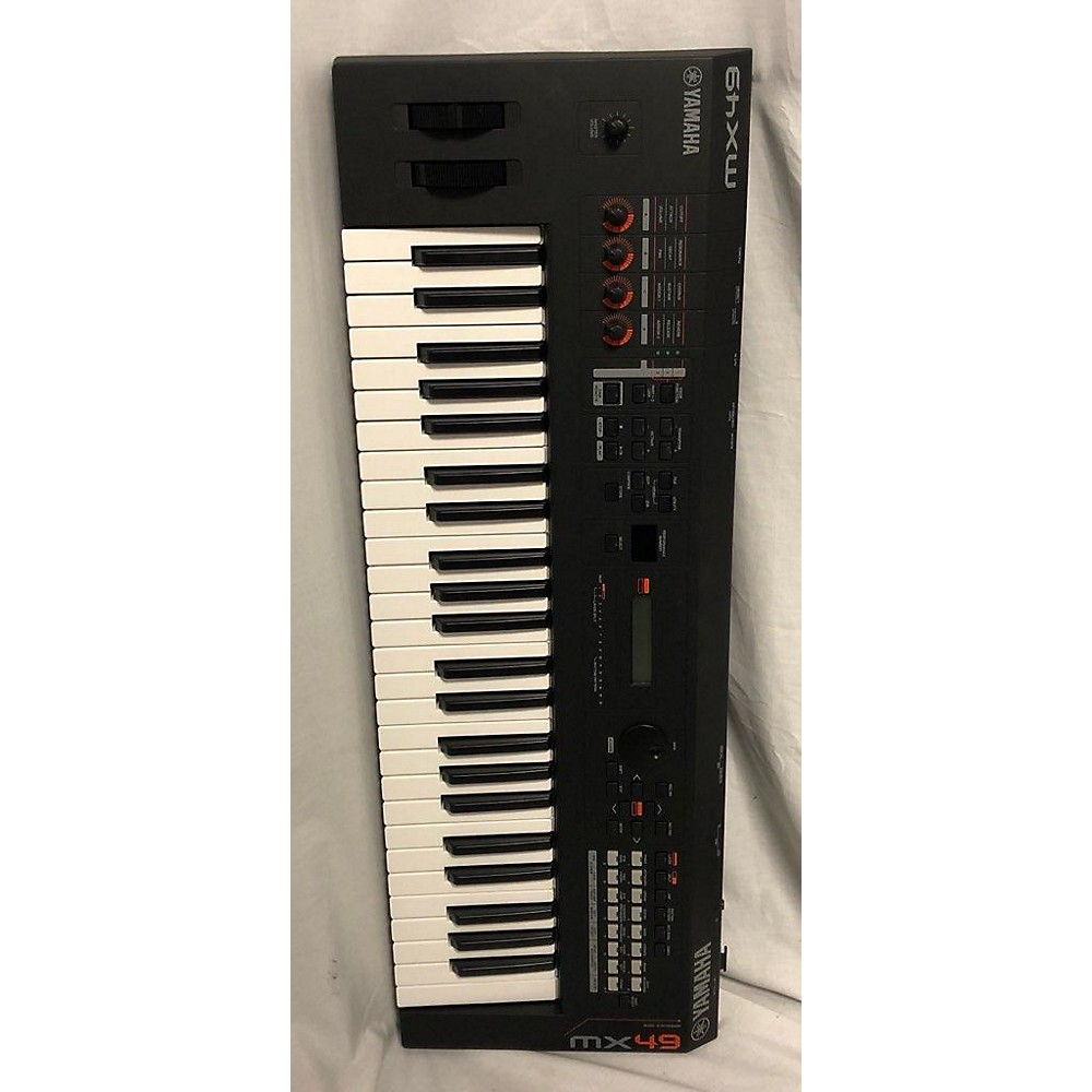 Yamaha 2018 Mx49 49 Key Keyboard Workstation