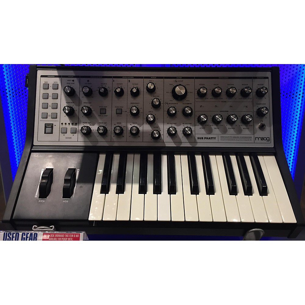Moog Sub Phatty 25 Key Synthesizer