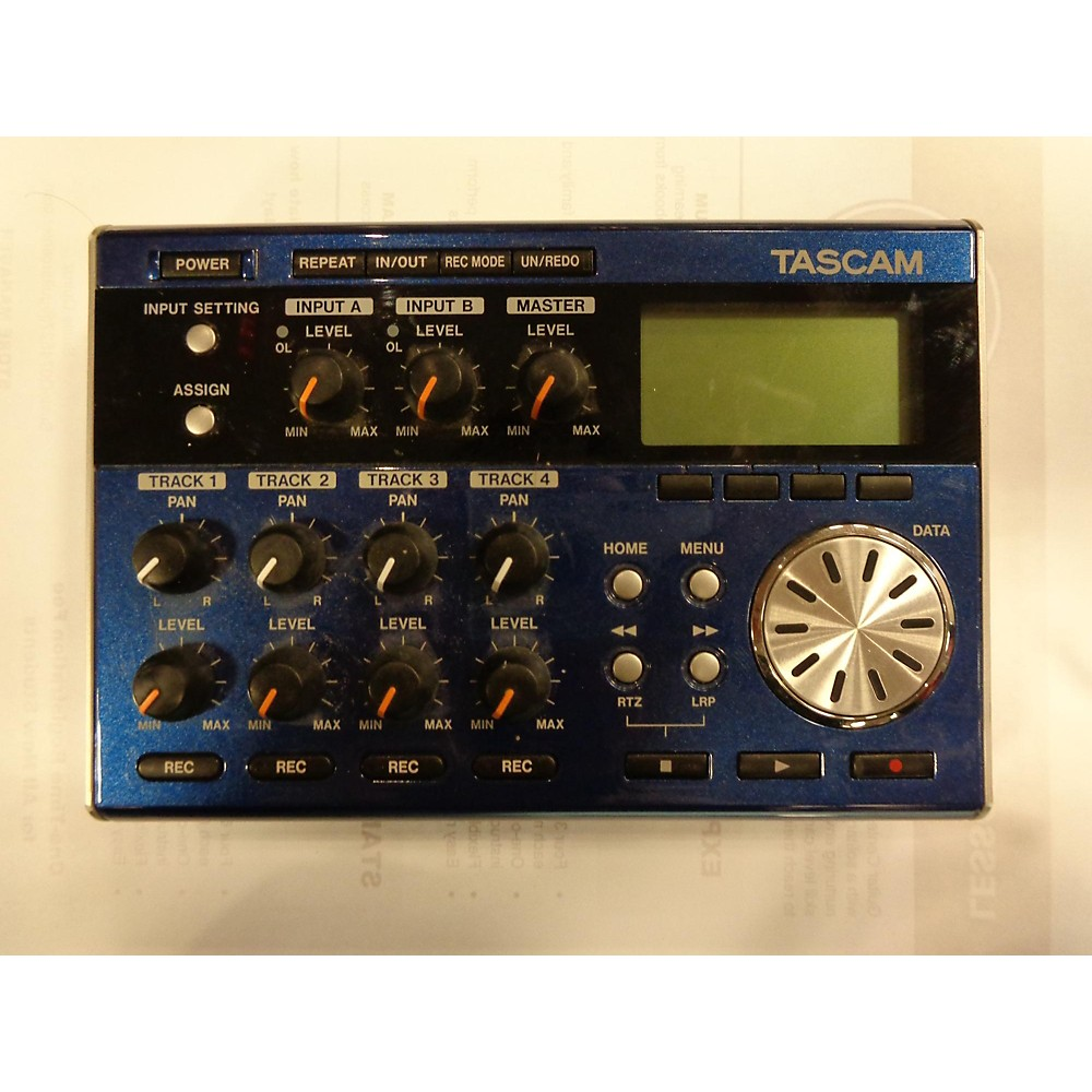 Tascam Dp03 Multitrack Recorder