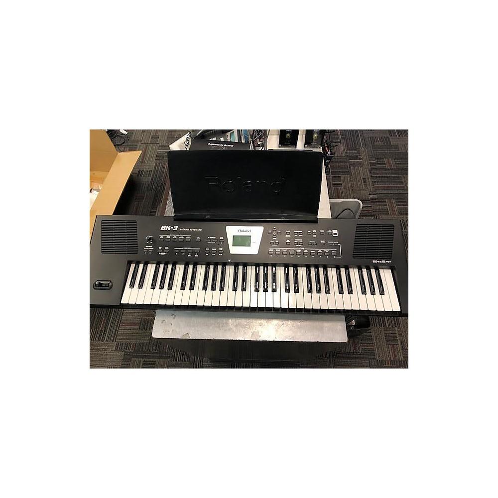 Roland Bk3 Synthesizer