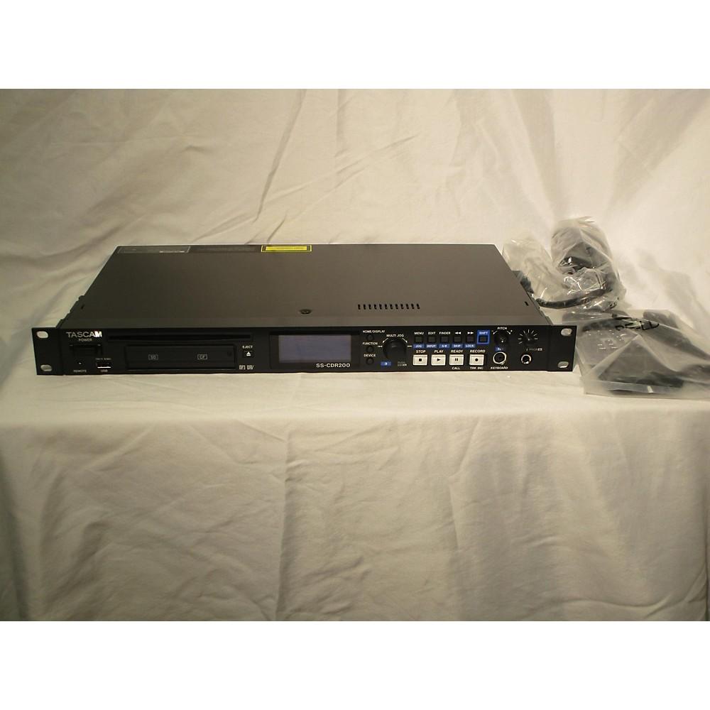 Tascam Ss-Cdr200 Multitrack Recorder