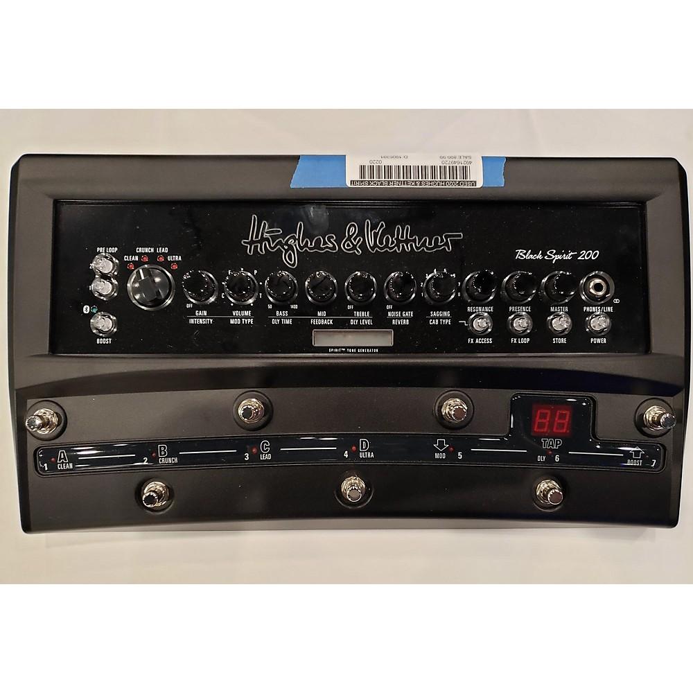 Hughes & Kettner 2020 Black Spirit 200 Floor Amp Solid State Guitar Amp Head (116231358) photo